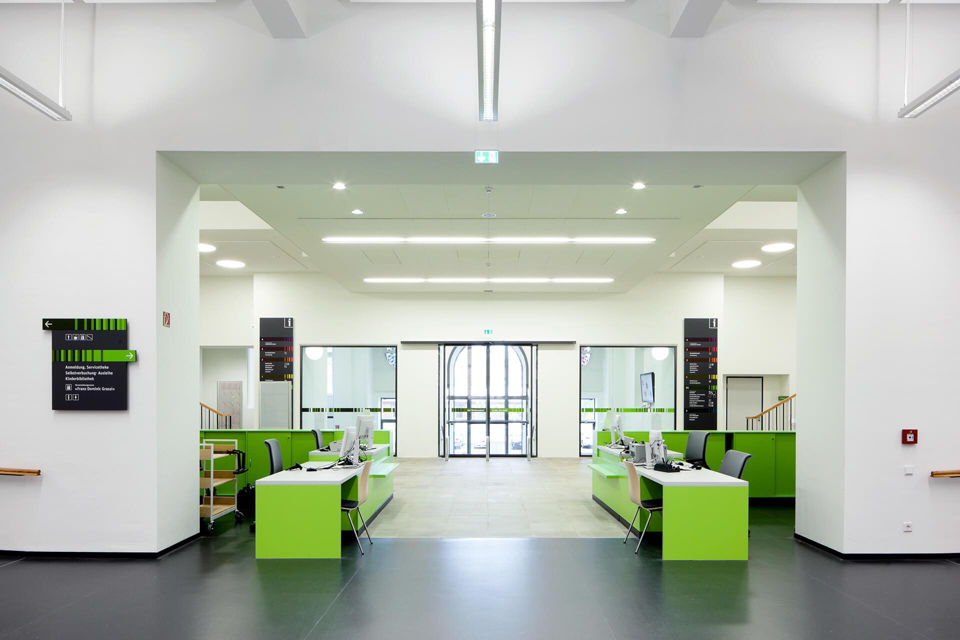 Architekten In Leipzig ksg architekten city library leipzig