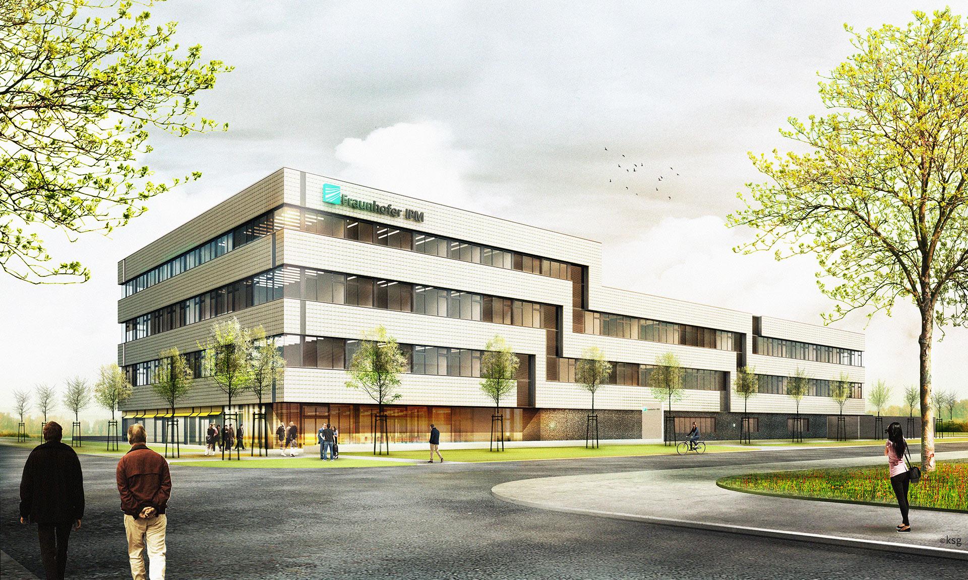 ksg-architekten - Fraunhofer IPM, Freiburg