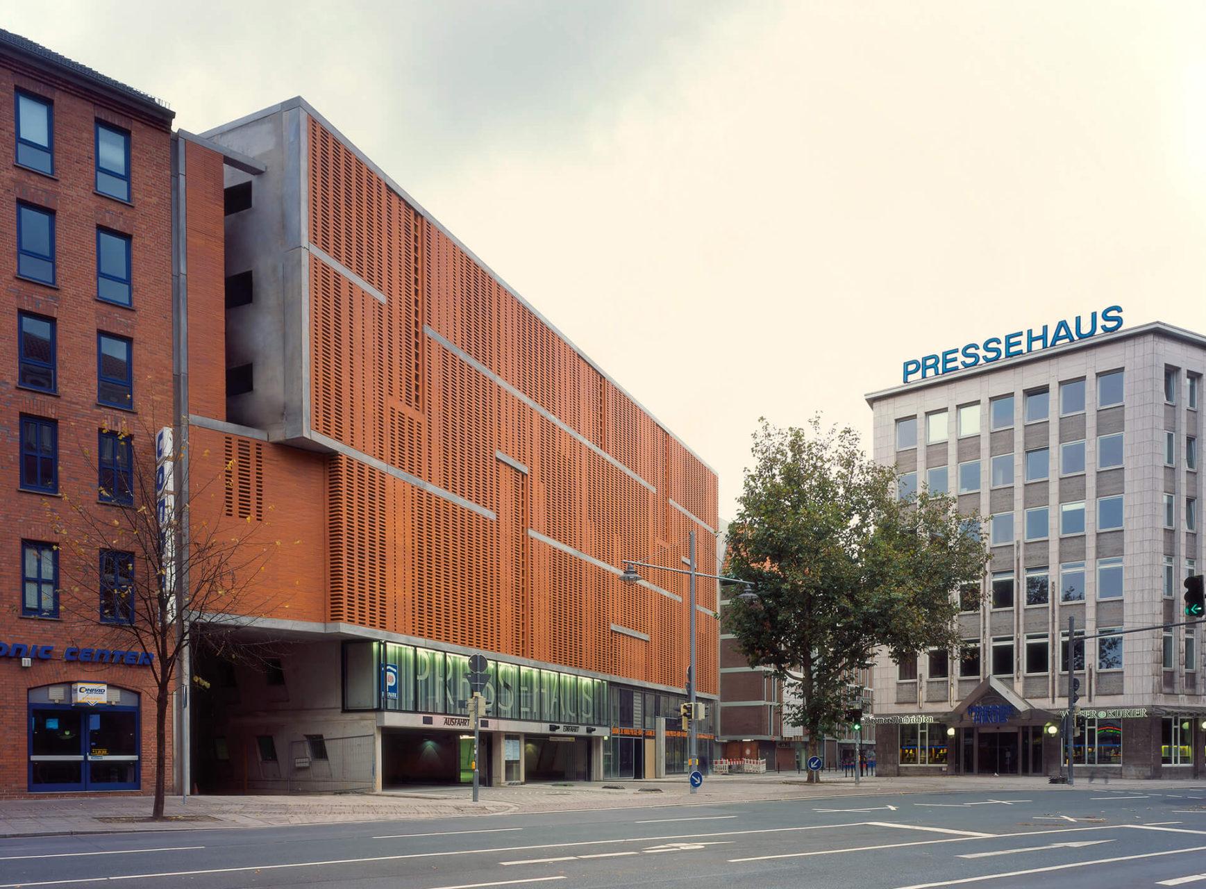 Ksg architekten parkhaus pressehaus bremen - Architekten bremen ...