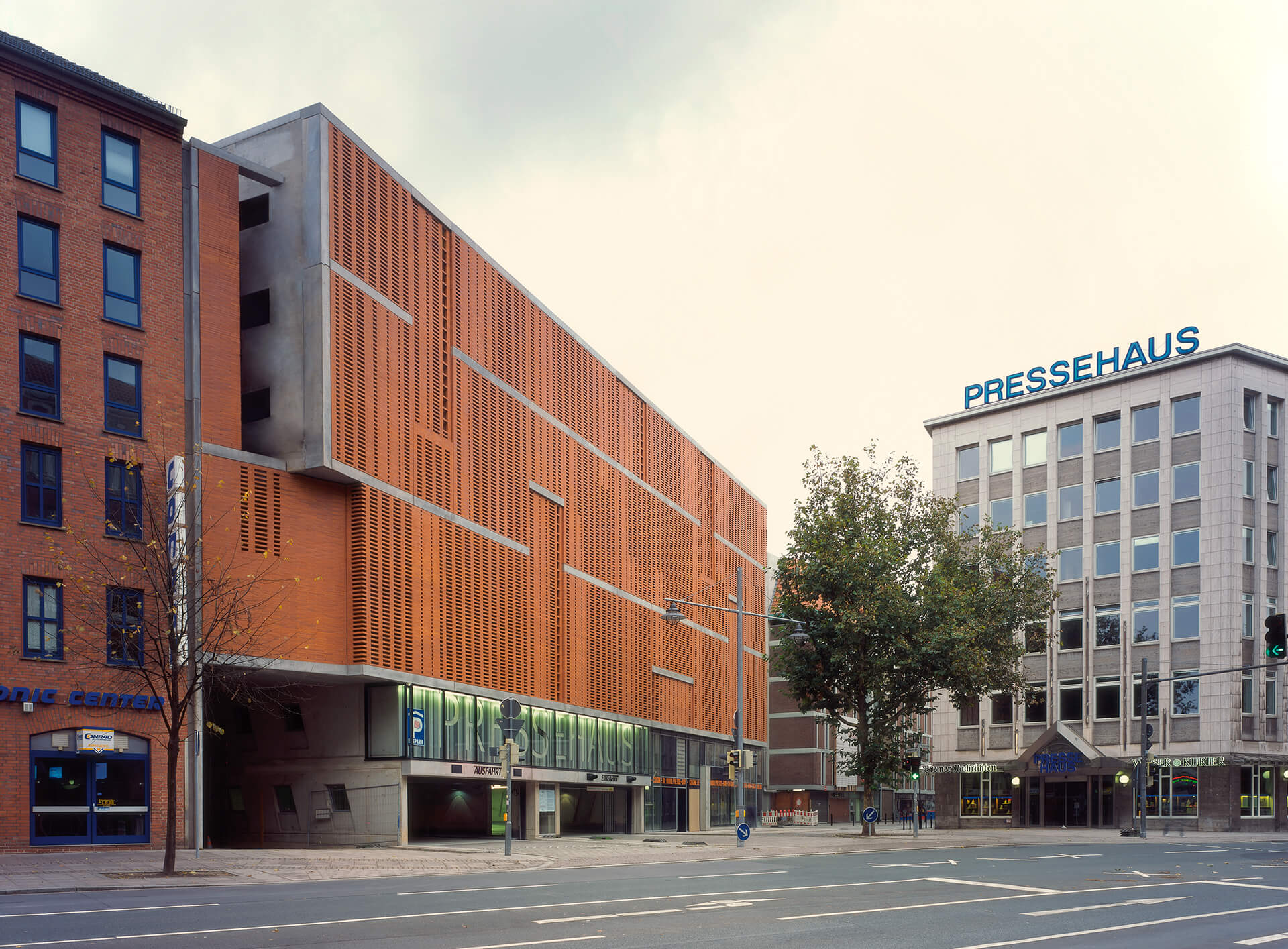 Bremen Architekt ksg architekten multi storey car park pressehaus bremen