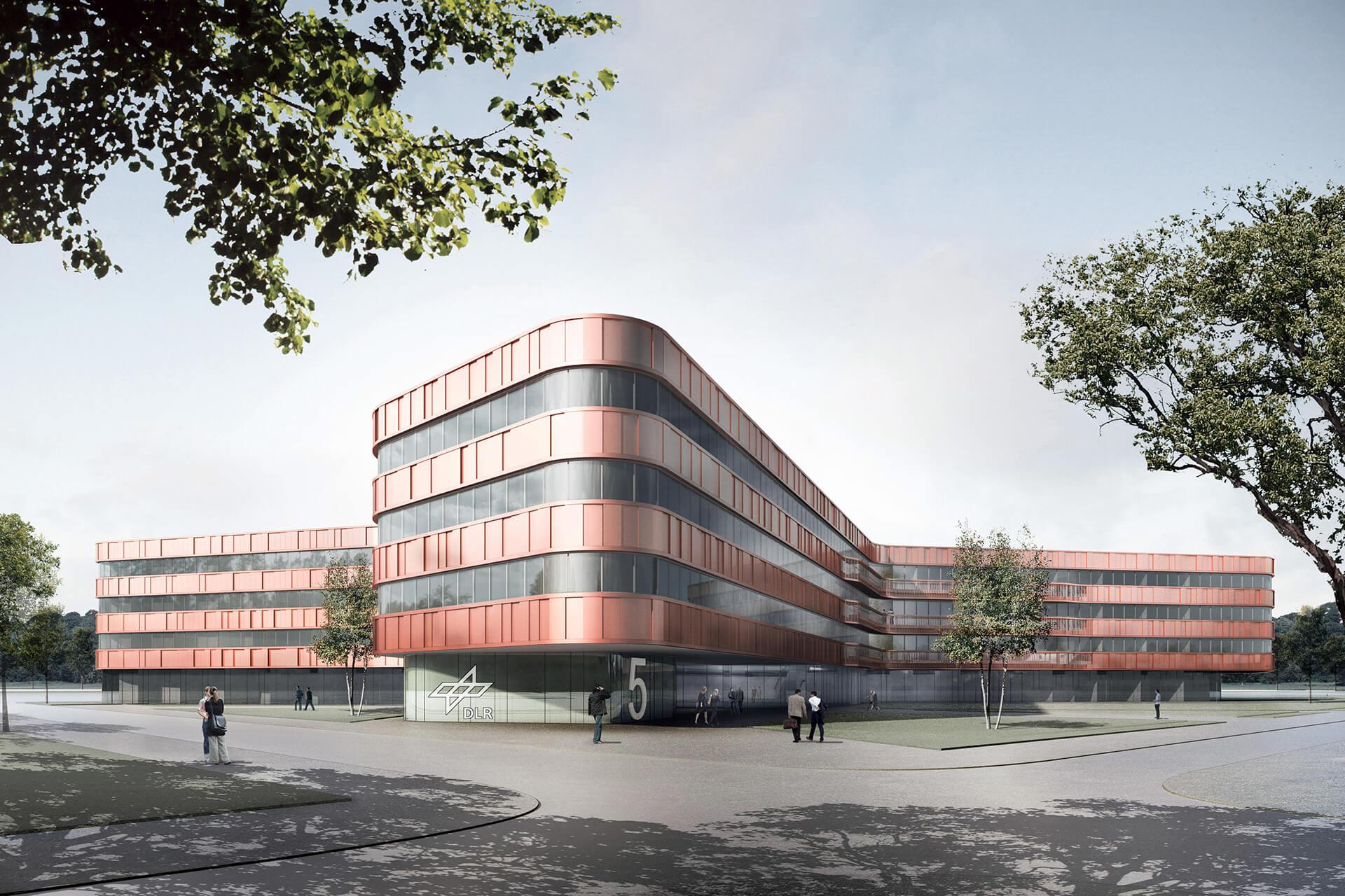 ksg-architekten - DLR Neubau, Köln-Porz