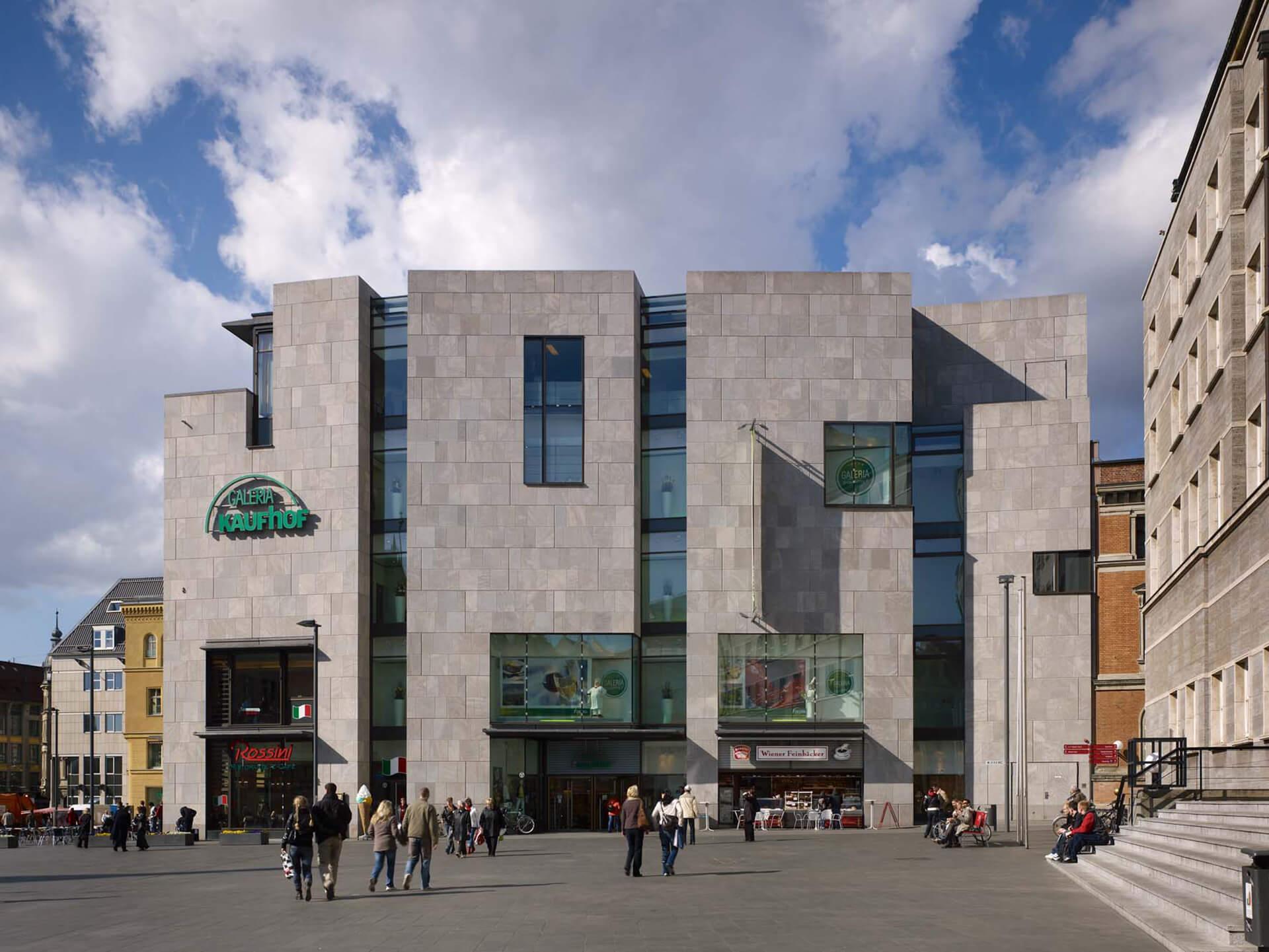 ksg-architekten - Kaufhaus Kaufhof, Halle