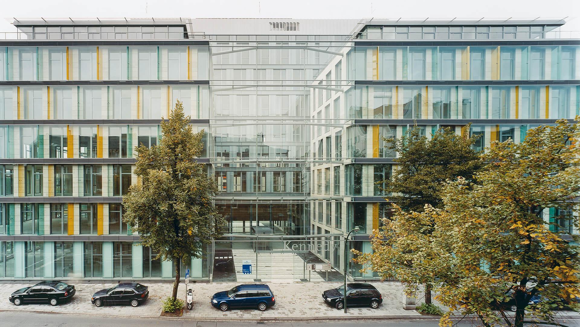 ksg architekten kennedyhaus d sseldorf